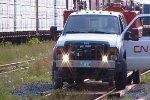 Manitoba Hi-Rail Truck